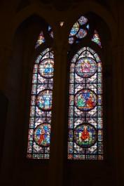 教堂內的彩繪玻璃
