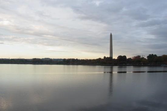 Tidal Lake與華盛頓紀念碑(下午)